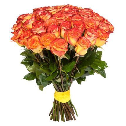 Букет из 51 розы High Magic (Эквадор)